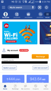 activate DND on Jio