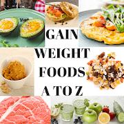Gaining weight foods