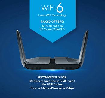 NETGEAR Nighthawk 8-Stream Best Wi-Fi router in India