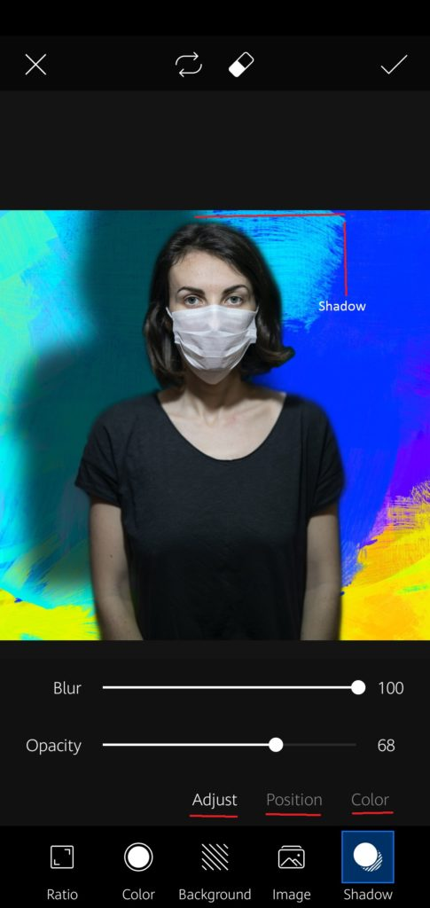 Picsart background editing trick