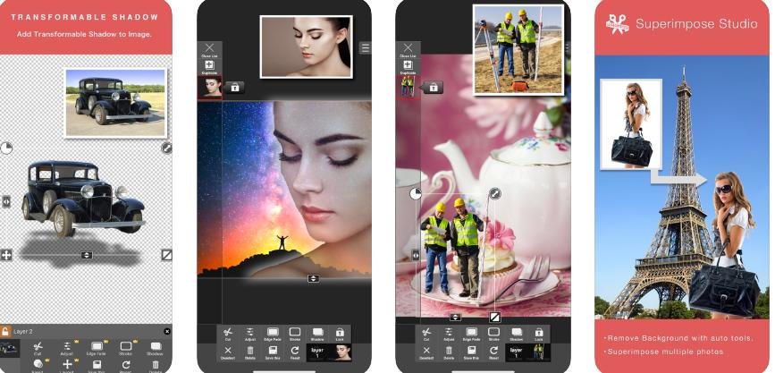 Superimpose Studio- Eraser, Mix iOS app