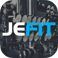 JEFIT Workout Tracker, Weight lifting