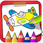 colouring book–kids paint