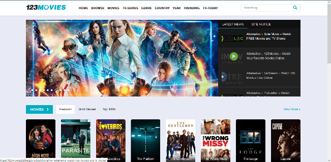 123Movies- Watch new release movies for free without any sign-ups