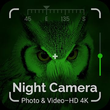 Night Camera Photo & Video - HD4K
